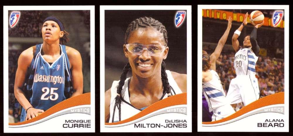 2007 WNBA Basketball Team Set - Washington Mystics
