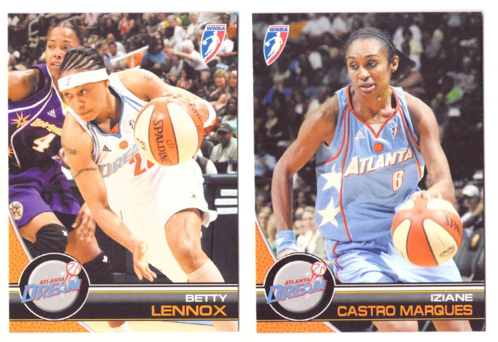 2008 WNBA Basketball Team Set - Atlanta Dream