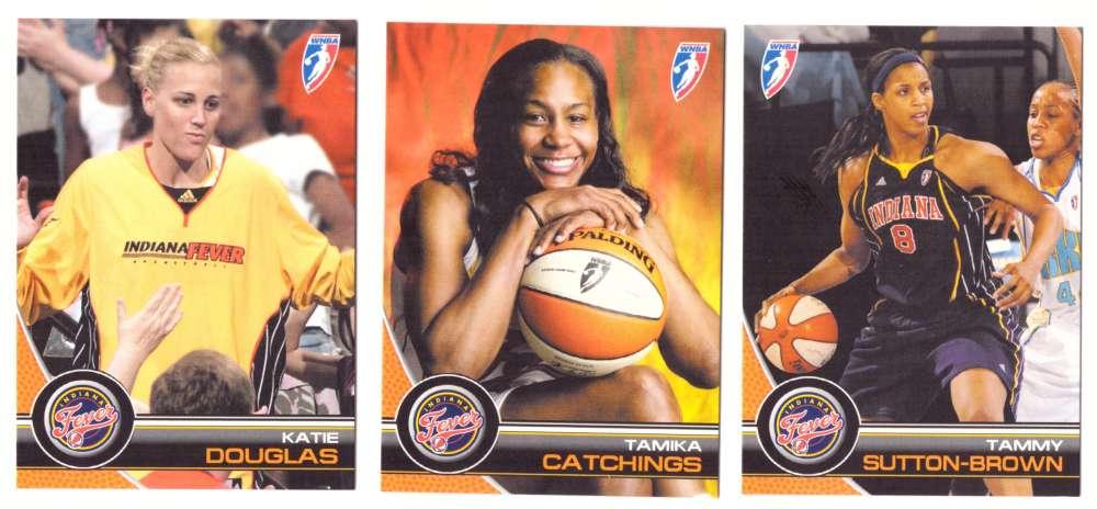 2008 WNBA Basketball Team Set - Indiana Fever