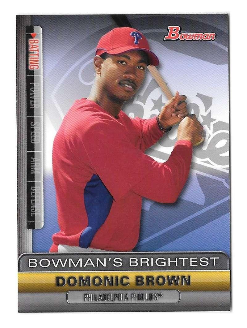 2011 Bowman Bowman's Brightest - PHILADELPHIA PHILLIES