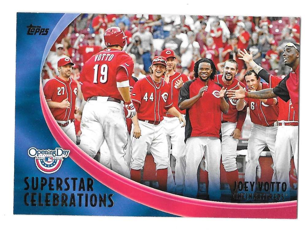 2012 Topps Opening Day Superstar Celebrations - CINCINNATI REDS