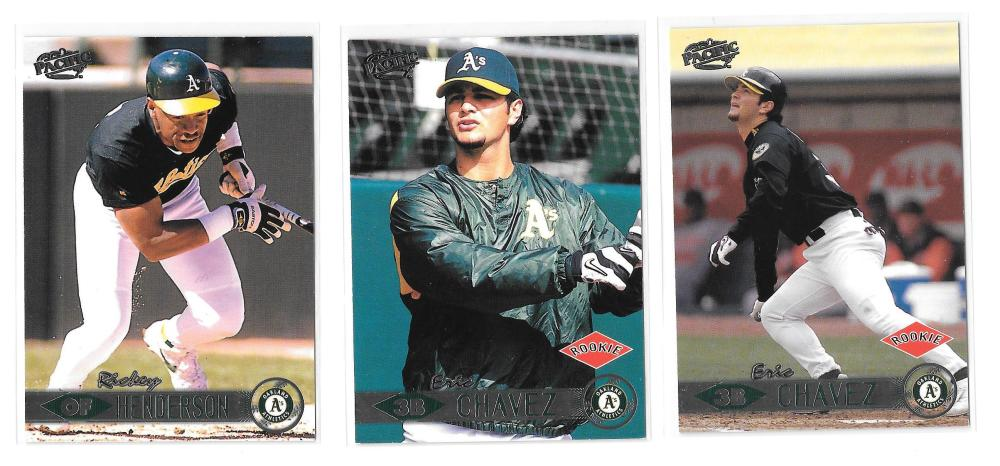 1999 Pacific - OAKLAND A's Team Set