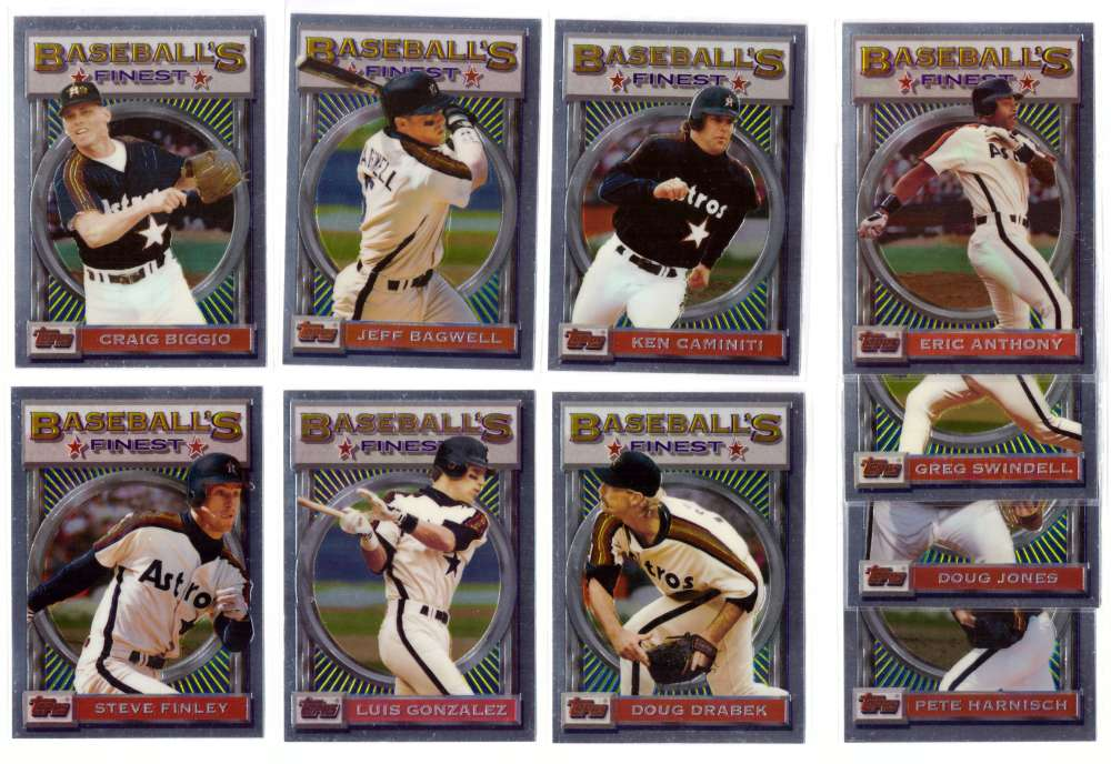 1993 FINEST - HOUSTON ASTROS Team Set