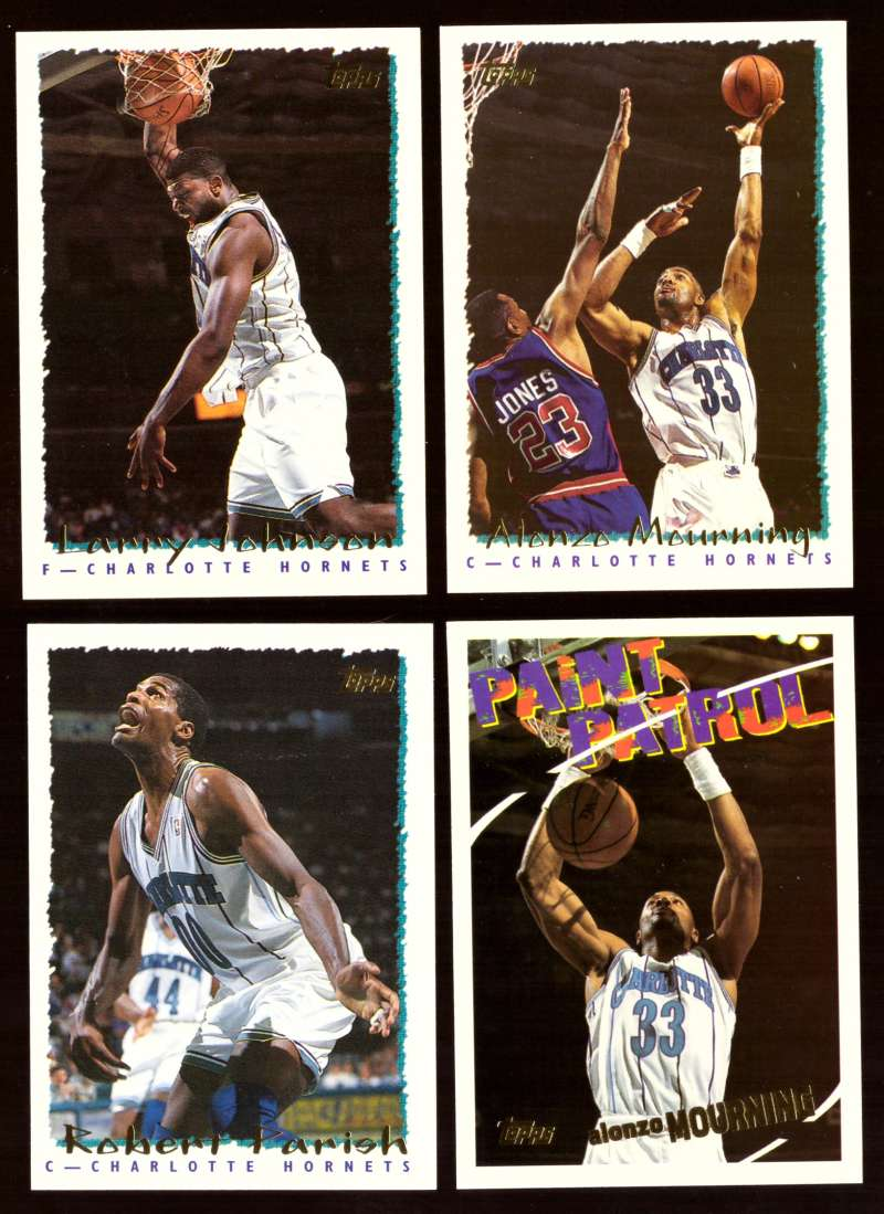 1994-95 Topps Basketball Team Set - Charlotte Hornets