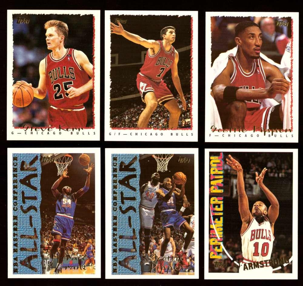 1994-95 Topps Basketball Team Set - Chicago Bulls