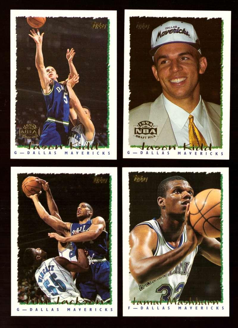 1994-95 Topps Basketball Team Set - Dallas Mavericks