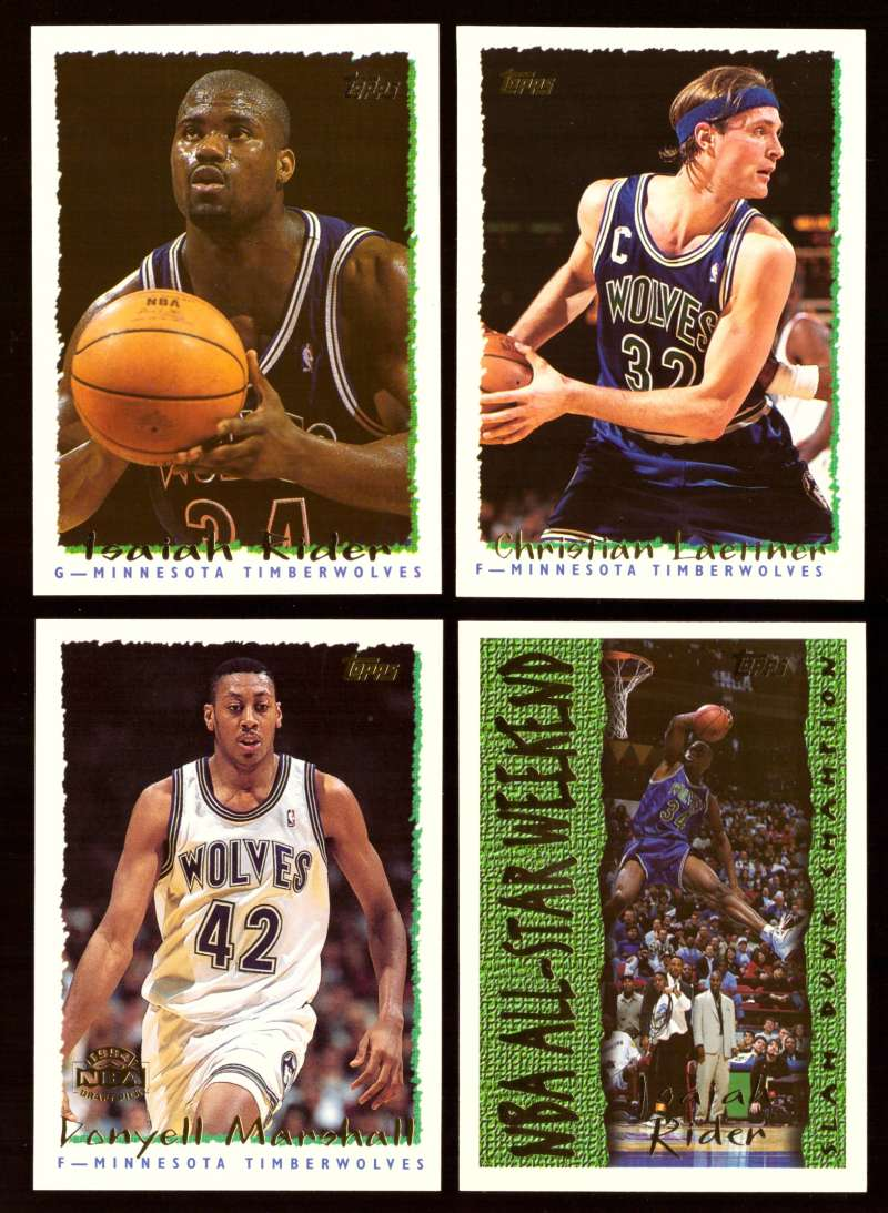 1994-95 Topps Basketball Team Set - Minnesota Timberwolves