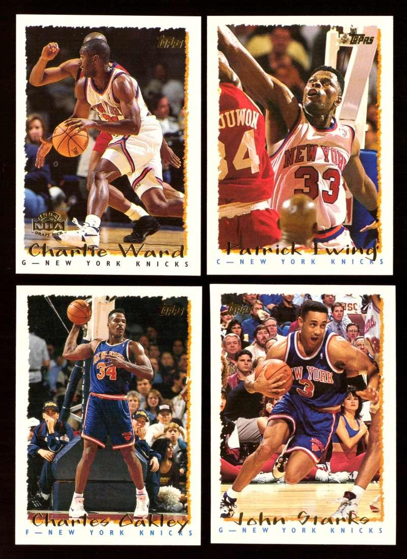 1994-95 Topps Basketball Team Set - New York Knicks