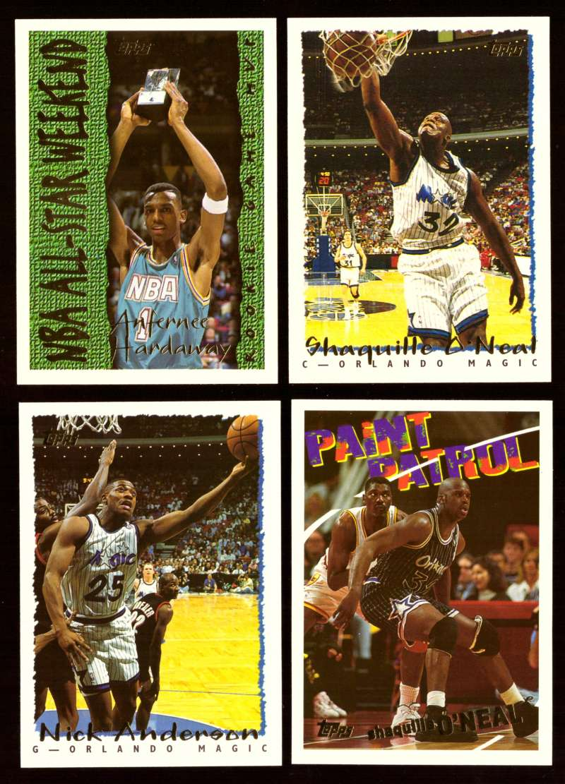 1994-95 Topps Basketball Team Set - Orlando Magic