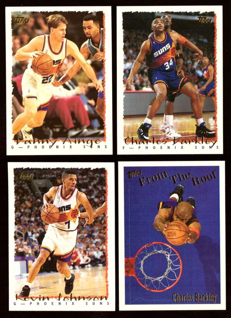 1994-95 Topps Basketball Team Set - Phoenix Suns