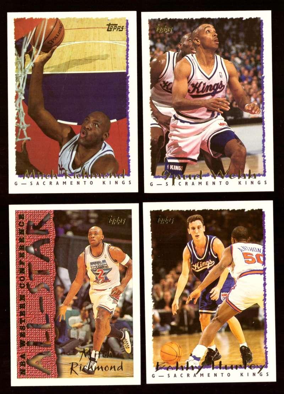 1994-95 Topps Basketball Team Set - Sacramento Kings