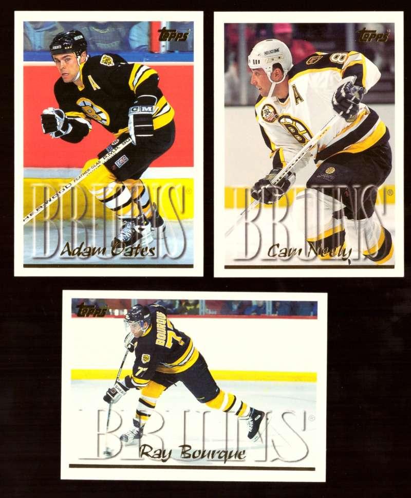 1995-96 Topps Hockey Team Set - Boston Bruins