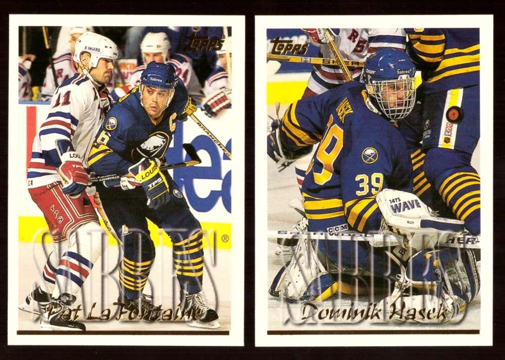 1995-96 Topps Hockey Team Set - Buffalo Sabres