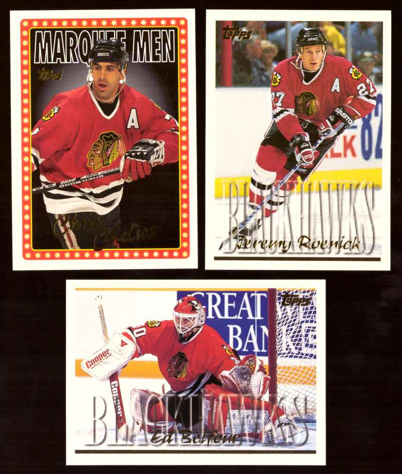 1995-96 Topps Hockey Team Set - Chicago Blackhawks