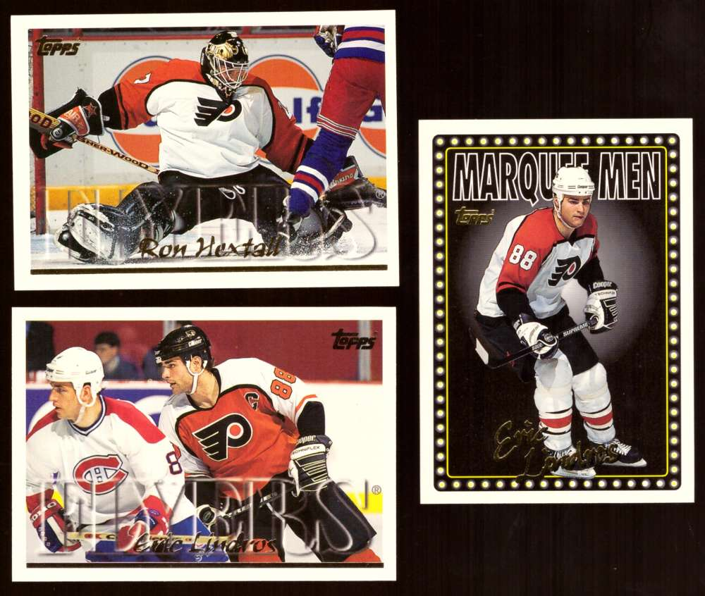 1995-96 Topps Hockey Team Set - Philadelphia Flyers