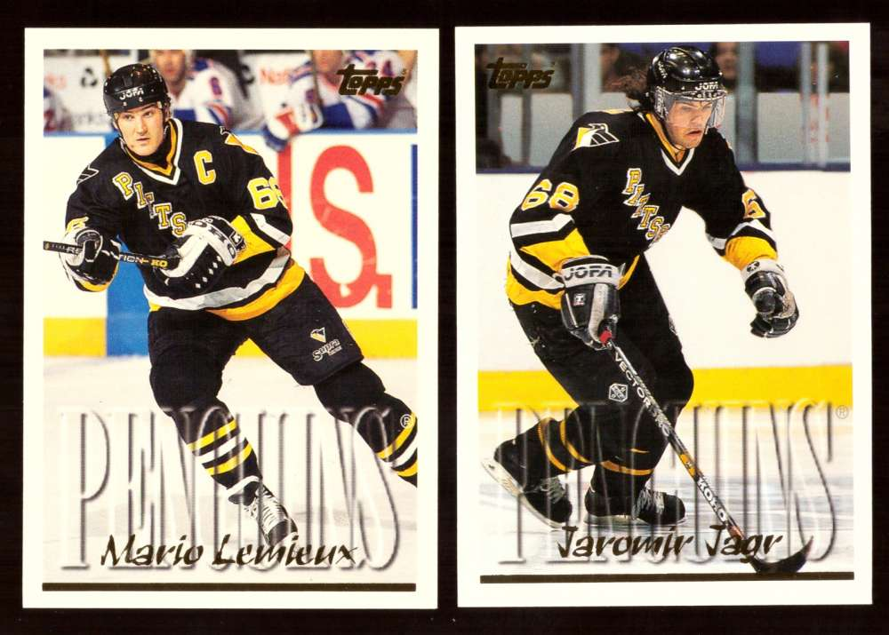 1995-96 Topps Hockey Team Set - Pittsburgh Penguins