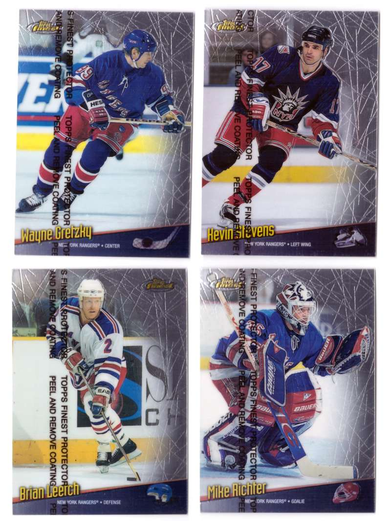 1998-99 Finest Hockey Team Set - New York Rangers