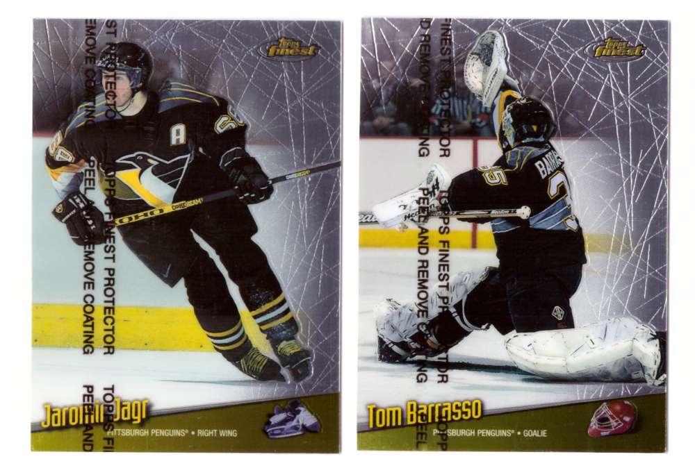 1998-99 Finest Hockey Team Set - Pittsburgh Penguins