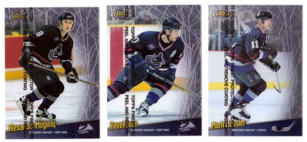 1998-99 Finest Hockey Team Set - Vancouver Canucks