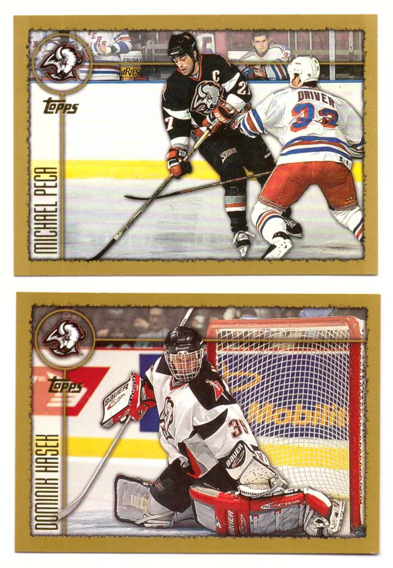1998-99 Topps Hockey Team Set - Buffalo Sabres