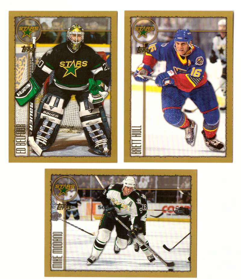 1998-99 Topps Hockey Team Set - Dallas Stars
