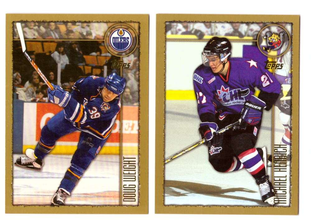 1998-99 Topps Hockey Team Set - Edmonton Oilers