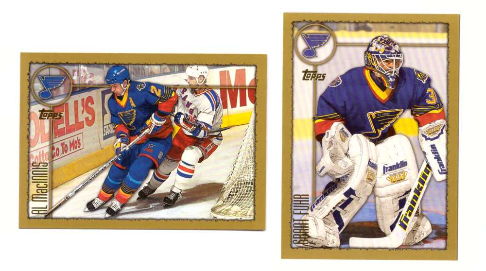 1998-99 Topps Hockey Team Set - St. Louis Blues