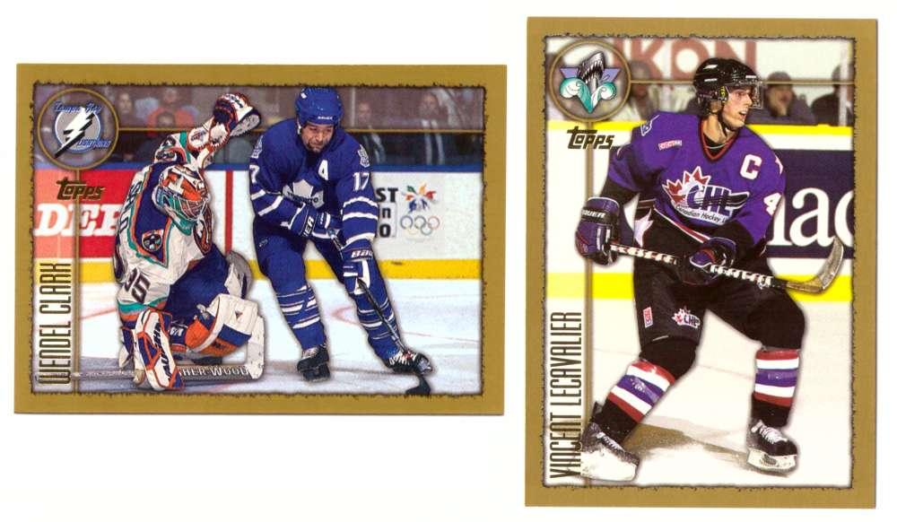 1998-99 Topps Hockey Team Set - Tampa Bay Lightning