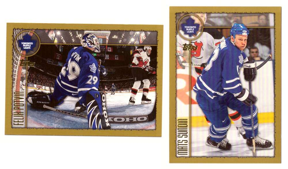 1998-99 Topps Hockey Team Set - Toronto Maple Leafs