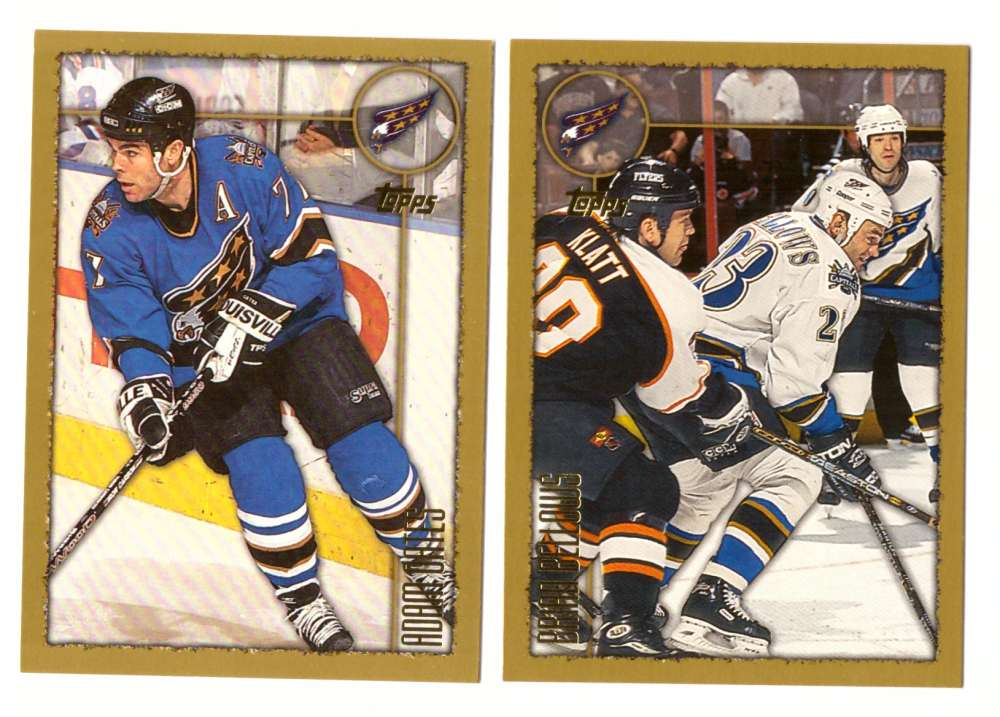 1998-99 Topps Hockey Team Set - Washington Capitals