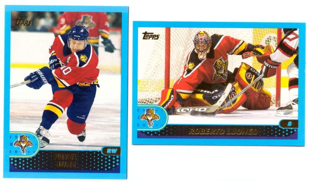 2001-02 Topps Hockey (1-330) Team Set - Florida Panthers