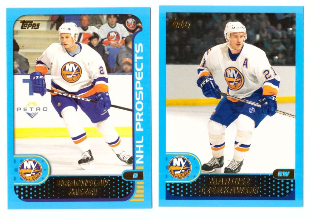 2001-02 Topps Hockey (1-330) Team Set - New York Islanders