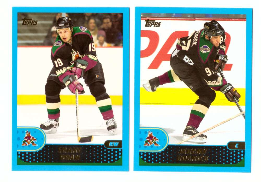 2001-02 Topps Hockey (1-330) Team Set - Phoenix Coyotes