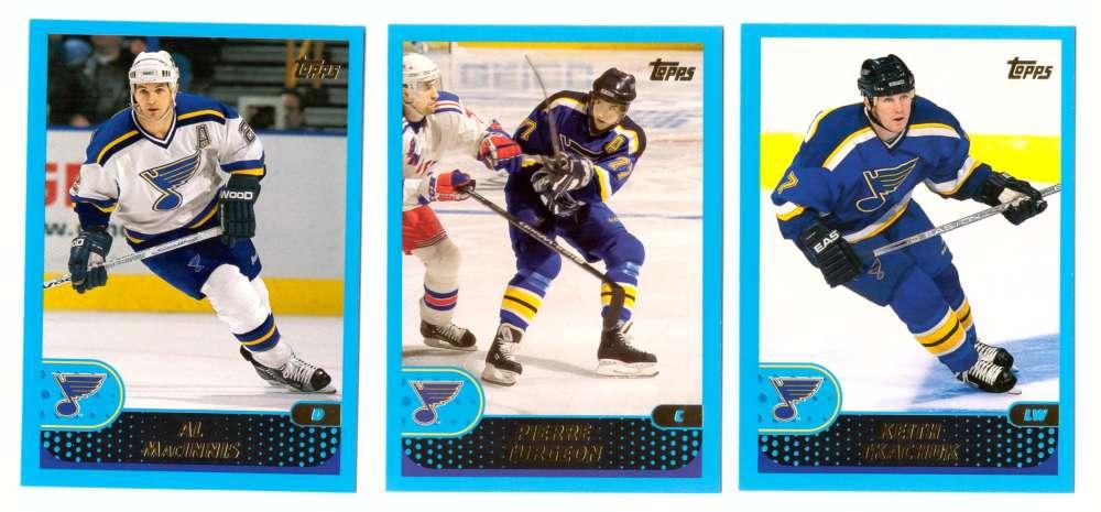 2001-02 Topps Hockey (1-330) Team Set - St. Louis Blues