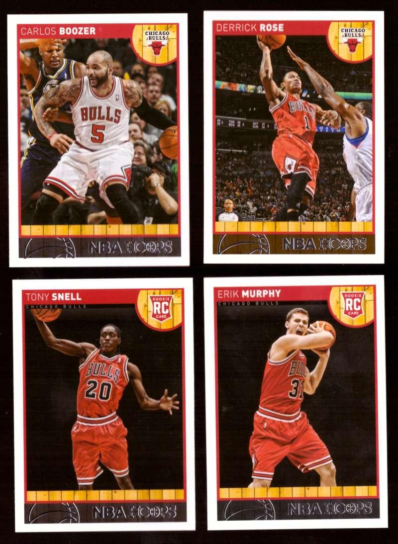 2013-14 Hoops Basketball Team Set - Chicago Bulls