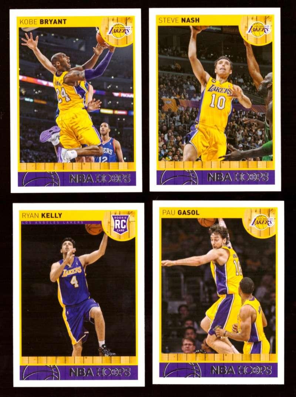 2013-14 Hoops Basketball Team Set - Los Angeles Lakers
