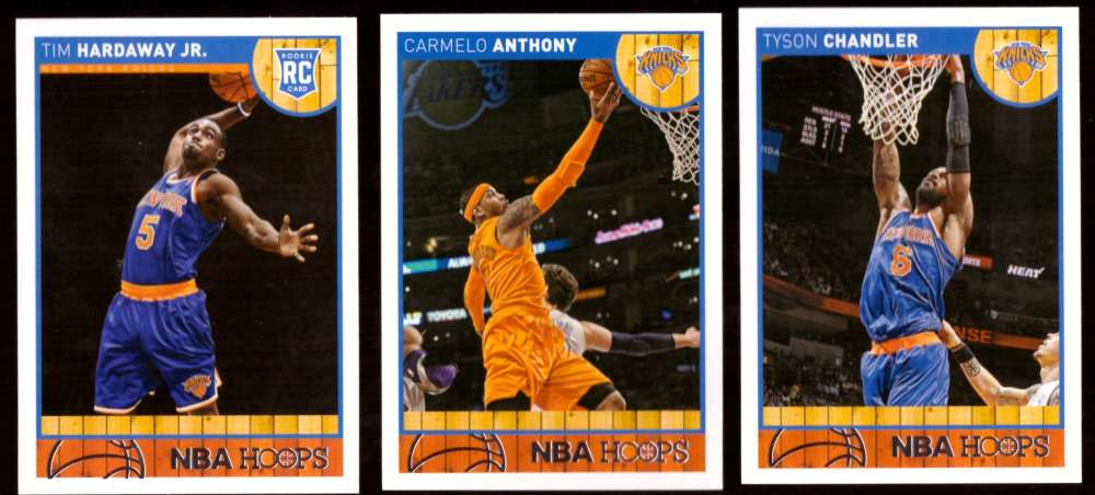 2013-14 Hoops Basketball Team Set - New York Knicks