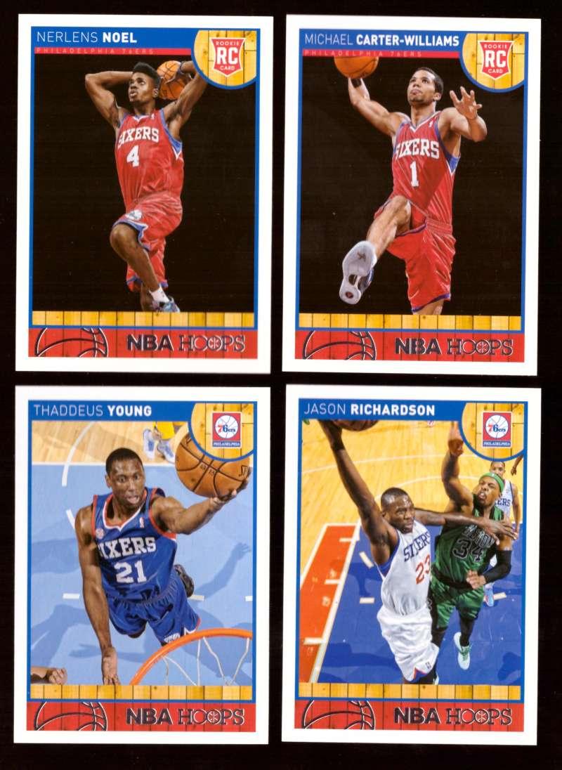 2013-14 Hoops Basketball Team Set - Philadelphia 76ers
