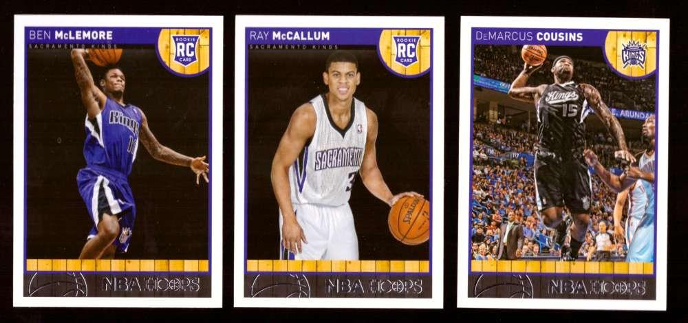 2013-14 Hoops Basketball Team Set - Sacramento Kings