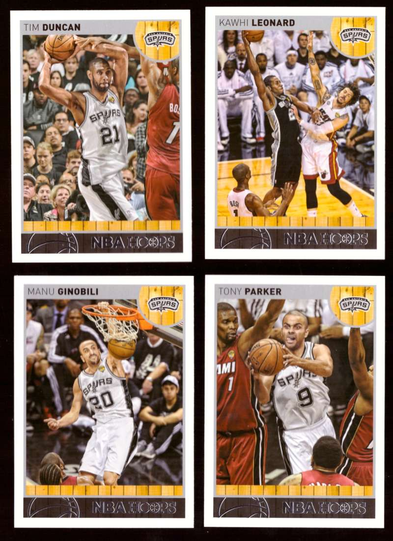 2013-14 Hoops Basketball Team Set - San Antonio Spurs