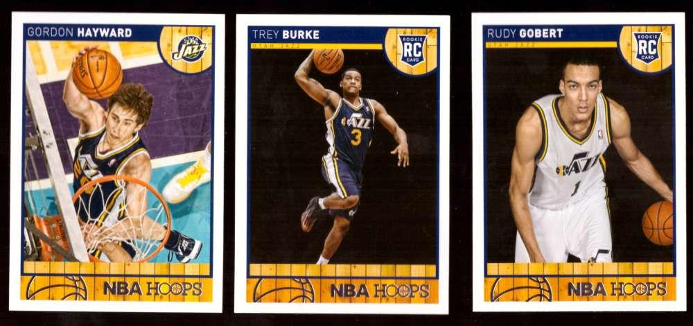 2013-14 Hoops Basketball Team Set - Utah Jazz