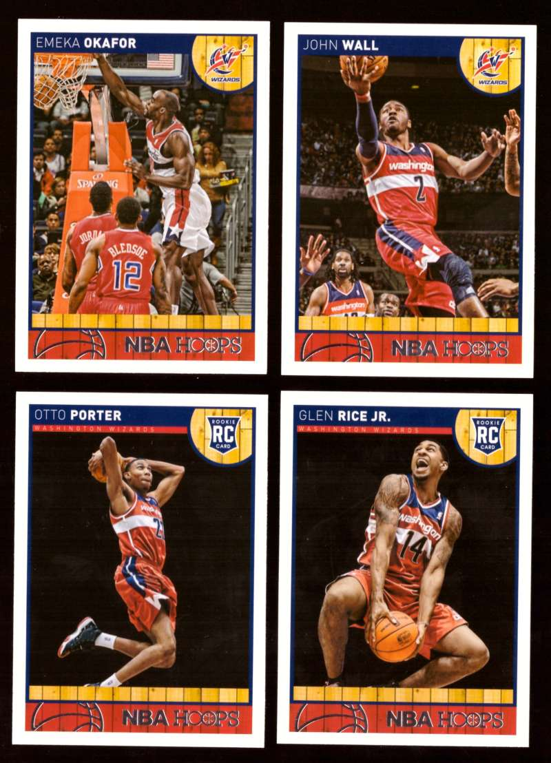2013-14 Hoops Basketball Team Set - Washington Wizards