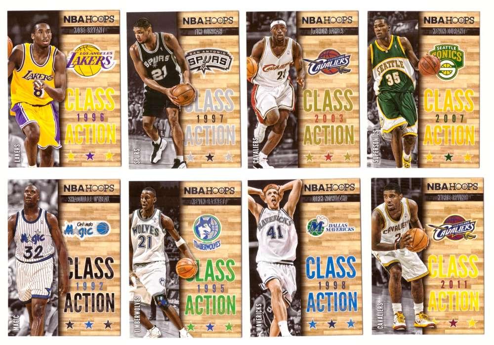 2013-14 Hoops Class Action Basketball 25 Card Insert Set