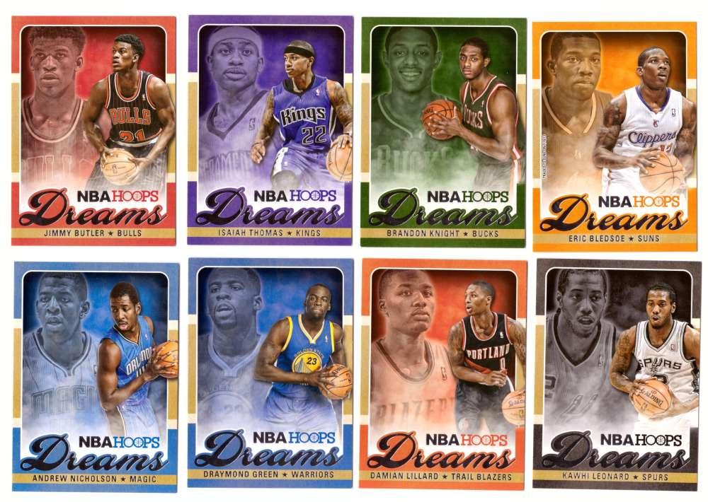2013-14 Hoops Dreams Basketball 25 Card Insert Set