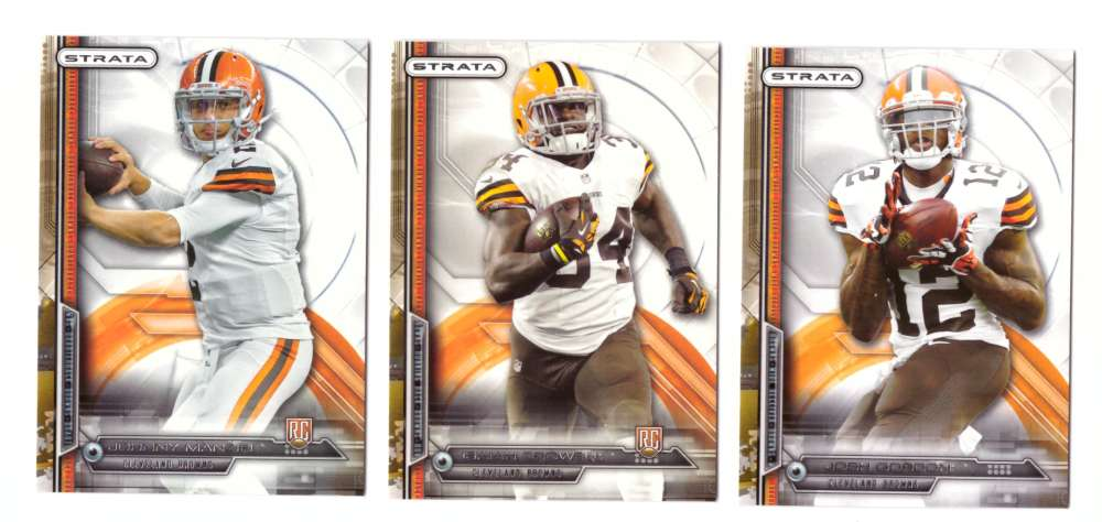 2014 Topps Strata Football - CLEVELAND BROWNS