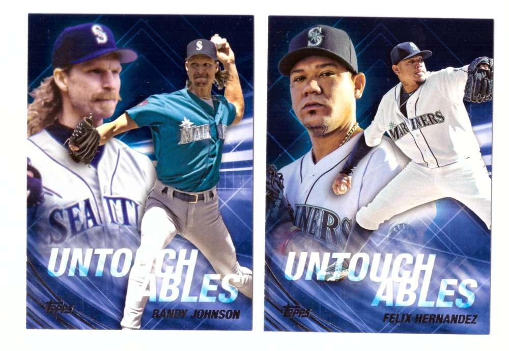 2017 Topps Update Untouchables - SEATTLE MARINERS