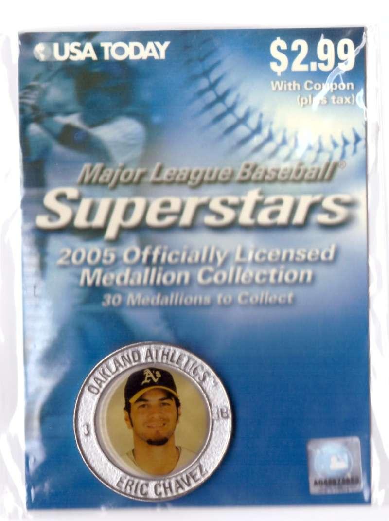 2005 USA Today Superstars Medallions - Eric Chavez