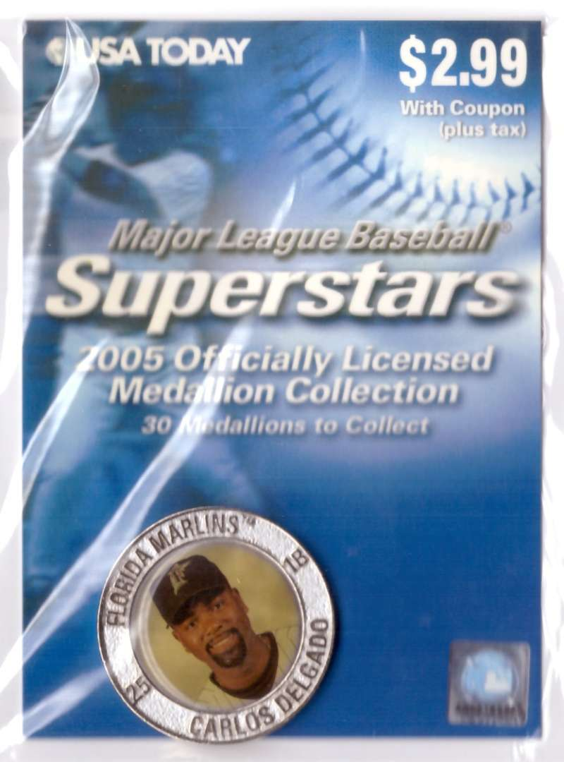 2005 USA Today Superstars Medallions - Carlos Delgado