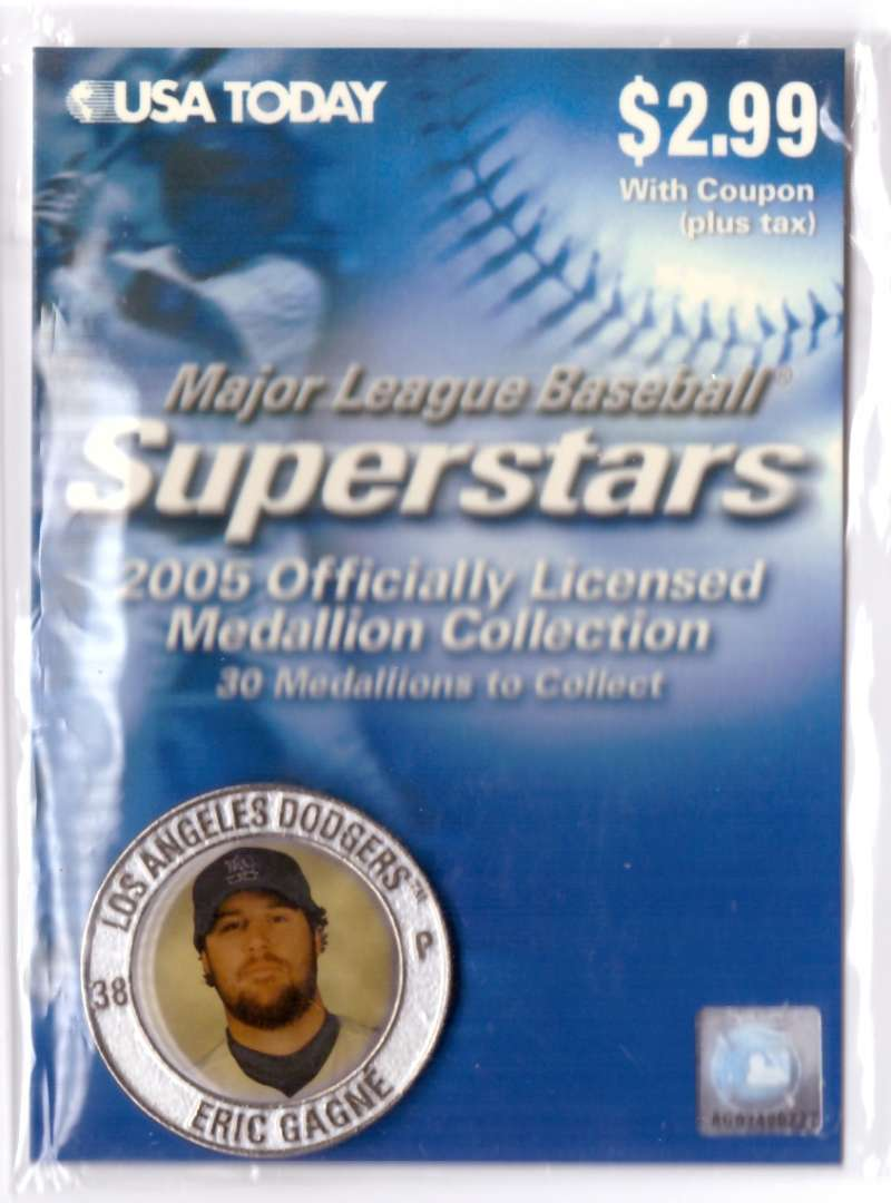 2005 USA Today Superstars Medallions - Eric Gagne