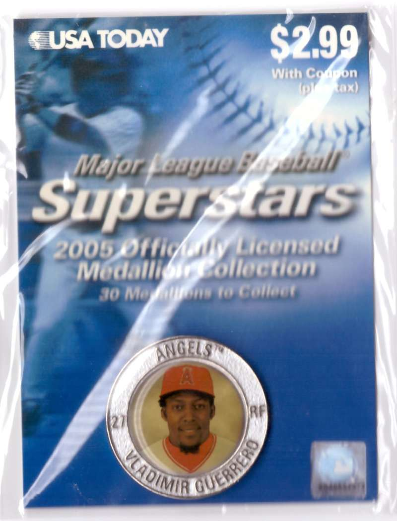 2005 USA Today Superstars Medallions - Vladimir Guerrero